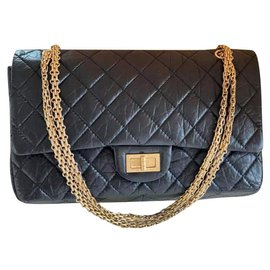 Chanel-maxi 2.55 (Reissue 227)-Black