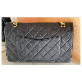 Chanel-maxi 2.55 (Reissue 227)-Black