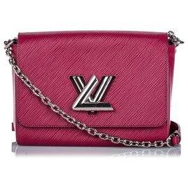 Louis Vuitton-Louis Vuitton Pink Epi Twist MM-Pink