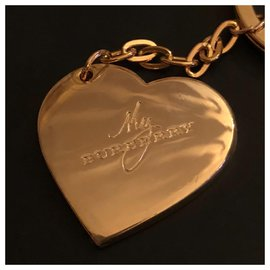Burberry-Bag charms-Golden