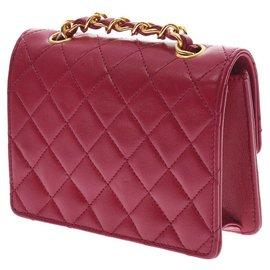 Chanel-Chanel Vintage Shoulder Bag-Red