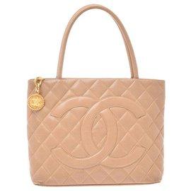 Chanel-Chanel Standard bags-Beige
