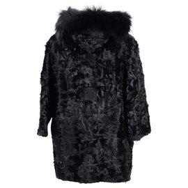 Max Mara-Max Mara coat nouveau-Noir