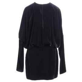 Saint Laurent-Saint Laurent robe nouvelle-Noir