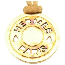 Hermès-Collier vintage Hermès-Doré