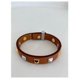Hermès-Bracelets-Marron clair