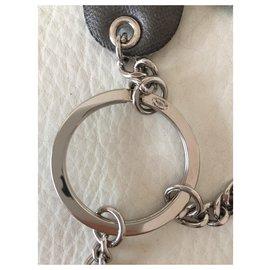 Chanel-CHANEL bag charm-Silvery