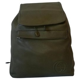 Gucci-Bags Briefcases-Khaki