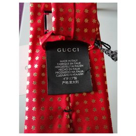 Gucci-ssstars tie gucci red new-Red
