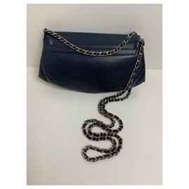 Chanel-Chanel Woc-Navy blue