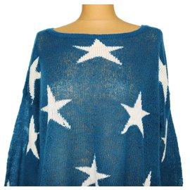 Wildfox-Knitwear-White,Blue
