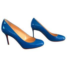 Christian Louboutin-Fifi 85-Blue,Light blue