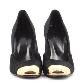 Hermès-Escarpins-Noir