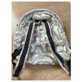 Chanel-Backpacks-Metallic