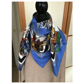 Hermès-NEW ORLÉANS CREOLE JAZZ-Dark blue