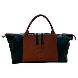 Delvaux-Weekend bag 48H-Green