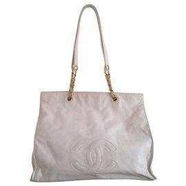Chanel-White Shopping Model 1993/1995-White