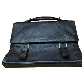 Lancel-Bags Briefcases-Dark brown