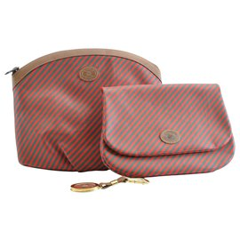 Gucci-Gucci Sherry line Pouch-Vert