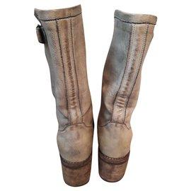 Free Lance-Boots-Light green