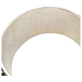 Autre Marque-Bracelet Jean Després en métal argenté.-Autre