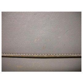 Céline-CELINE wallet flap-Grey