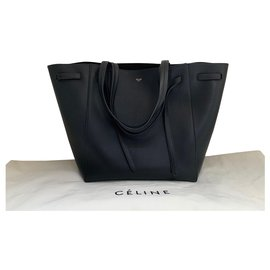 Céline-Celine tote - Belt model-Black