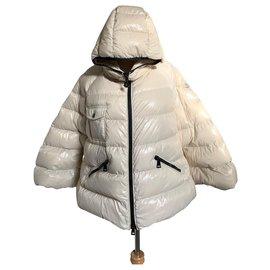 Moncler-Manteaux, Vêtements d'extérieur-Écru