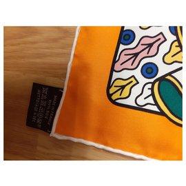 Hermès-dreamlike duel-Orange