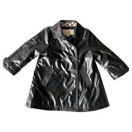 Burberry-Manteaux fille-Noir