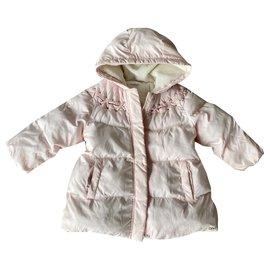 Chloé-Girl Coats outerwear-Pink