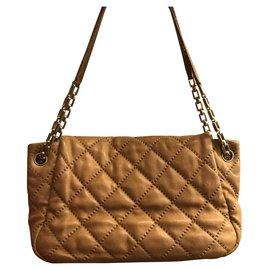 Chanel-Handbags-Beige