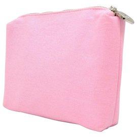 Chanel-Chanel Case Pouch Bag Holder-Rose