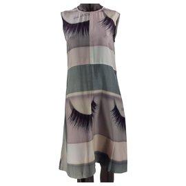 Céline-Dresses-Pink,White,Grey