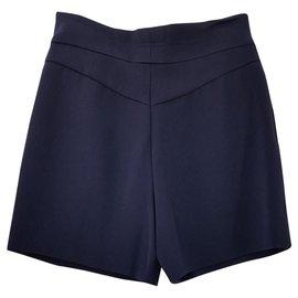 Chloé-Shorts-Navy blue