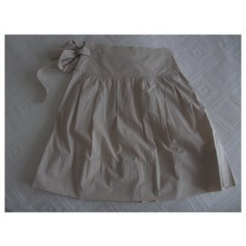 Chloé-Chloé skirt Sea Shell model-Beige