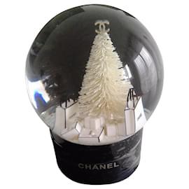 Chanel-Boule à  neige-Noir