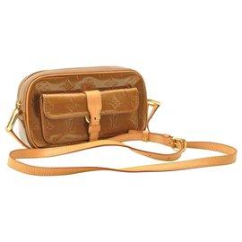 Louis Vuitton-Louis Vuitton Vernis Christie MM Shoulder Bag-Brown