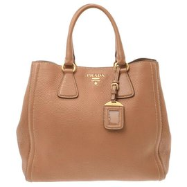 Prada-Prada Vintage Handbag-Brown