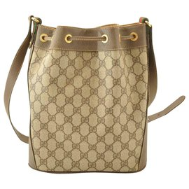 Gucci-Gucci Sherry Line GG-Brown