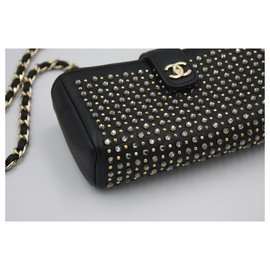 Chanel-POuch on chain-Black