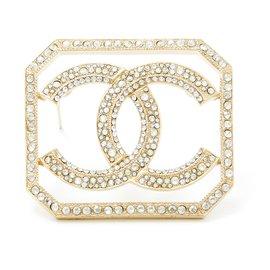 Chanel-GOLDEN CC RHINESTONES-Golden