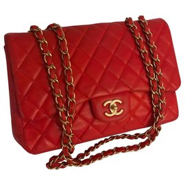 Chanel-Sacs à main-Rouge