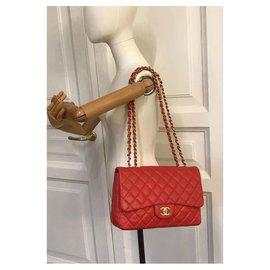 Chanel-Handbags-Red