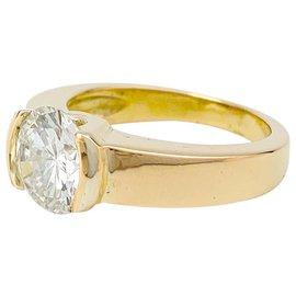 inconnue-Bague en or jaune, diamants 2,09 cts G/VVS1.-Autre