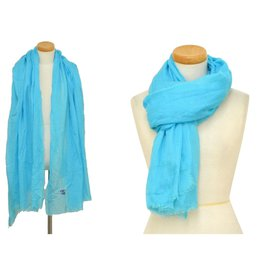 Chanel-Chanel Rayon Cashmere-Blue