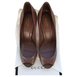 Gucci-Gucci open toe pumps-Other