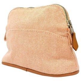 Hermès-Hermès Mini Bolide Pouch Holder-Orange