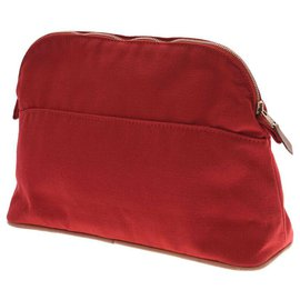 Hermès-Hermès Bored Pouch 25-Red
