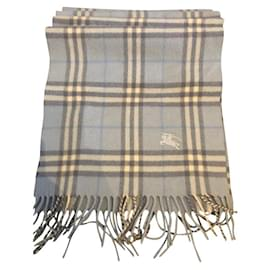 Burberry-Scarves-Blue